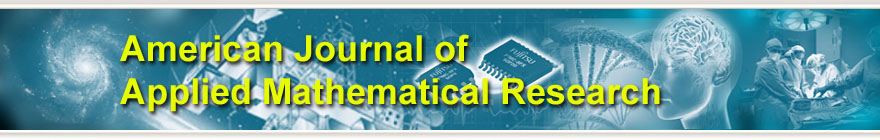 American Journal of Applied Mathematical Research