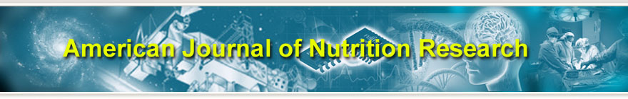 American Journal of Nutrition Research