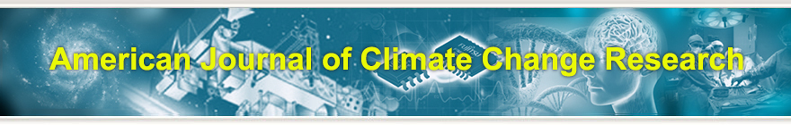 American Journal of Climate Change Research