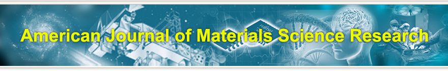 American Journal of Materials Science Research