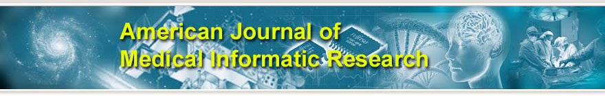 American Journal of Medical Informatic Research
