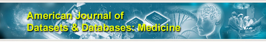 American Journal of Datasets & Databases: Medicine