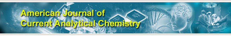 American Journal of Current Analytical Chemistry