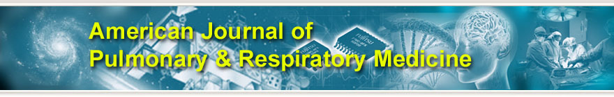 American Journal of Pulmonary & Respiratory Medicine