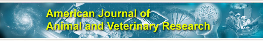 American Journal of Animal and Veterinary Research